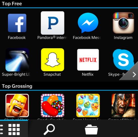 aplicaciones android en blackberry