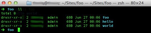 comando ll detalles archivos por consola