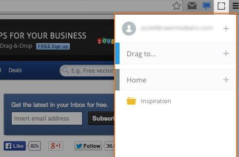 dragdis sidebar navegador