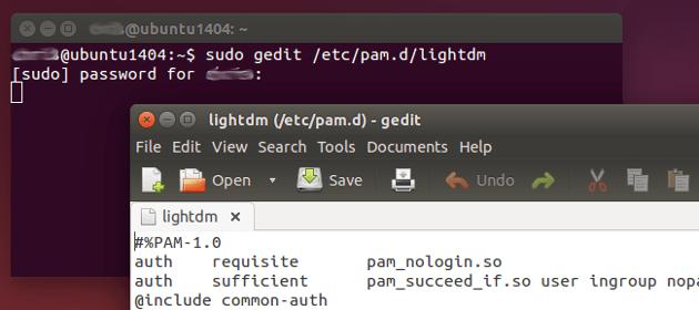 editar archivo de gestor de inicio en ubuntu