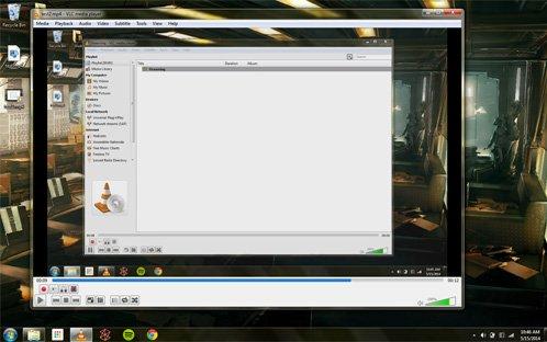 grabar el escritorio con VLC