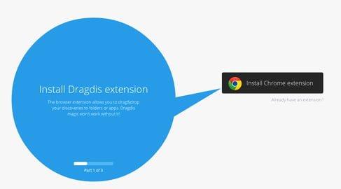 instalar extension dragdis chrome