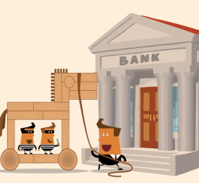 malware en banco