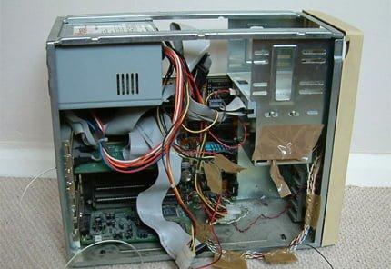 servidor de archivos viejo ordenador