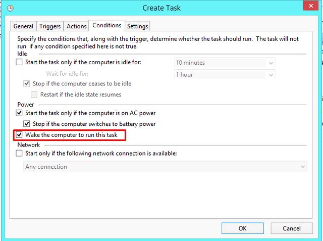 tarea automatizada en windows