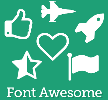 usar iconos font awesome