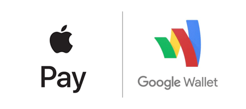 Apple pay-Google Wallet