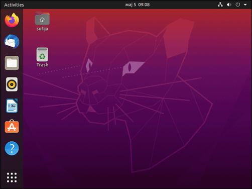 Ubuntu 20.04 desktop.