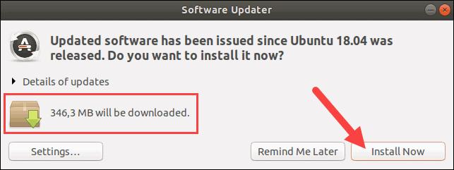 Update software packages on Ubuntu.