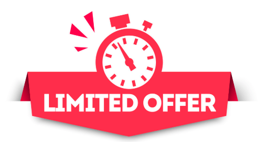 Limited Time Offer: On 15th sep 2020