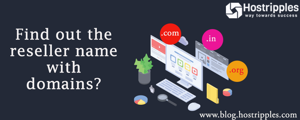 find out the reseller name with domains, Find out the reseller name with domains, Hostripples Web Hosting