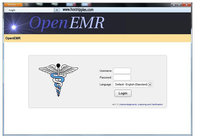 Insatll OpenEMR