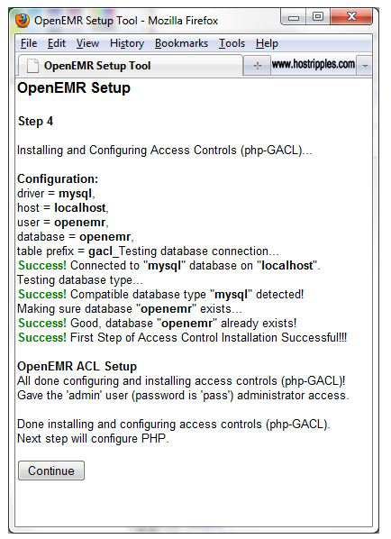 Install OpenEMR, How to Install OpenEMR, Hostripples Web Hosting