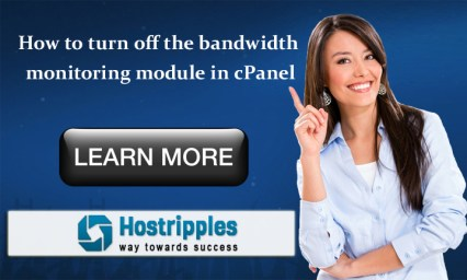monitoring module in cPanel