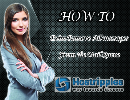 All messages From the Mail Queue, How to : Exim Remove All messages From the Mail Queue, Hostripples Web Hosting