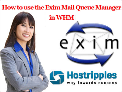 How to use the Exim Mail Queue Manager in WHM