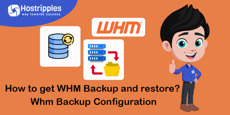 how to get backup and restore Whm backup configuration
