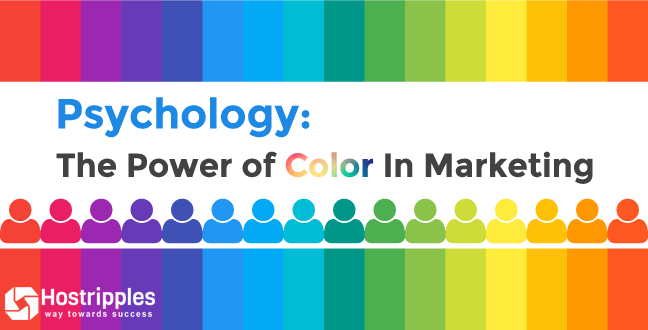 How Colors on Your Website Affects Conversion Ratio, Hostripples Web Hosting