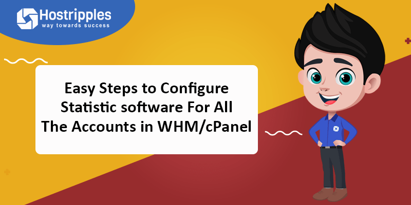 Easy Steps to Configure Statistic software For All The Accounts in WHM/cPanel, Hostripples Web Hosting