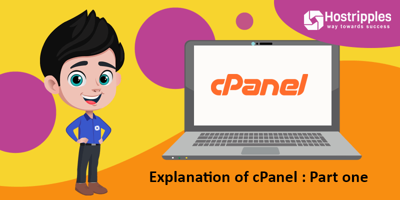 Explanation of cPanel : Part one, Hostripples Web Hosting