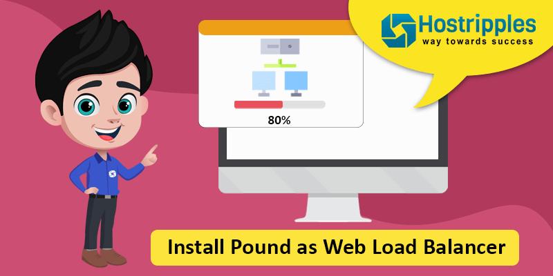 Install Pound as Web Load Balancer, Hostripples Web Hosting