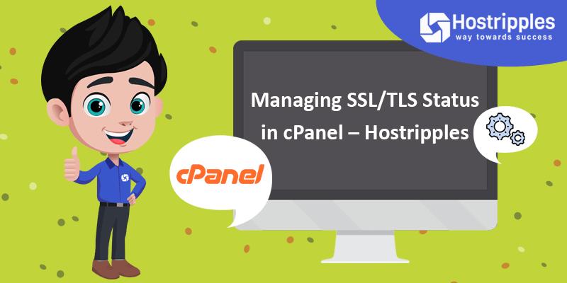 Managing SSL/TLS Status in cPanel – Hostripples, Hostripples Web Hosting