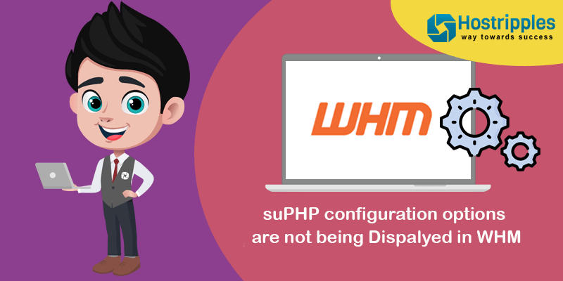 suPHP configuration options are not being Dispalyed in WHM, Hostripples Web Hosting