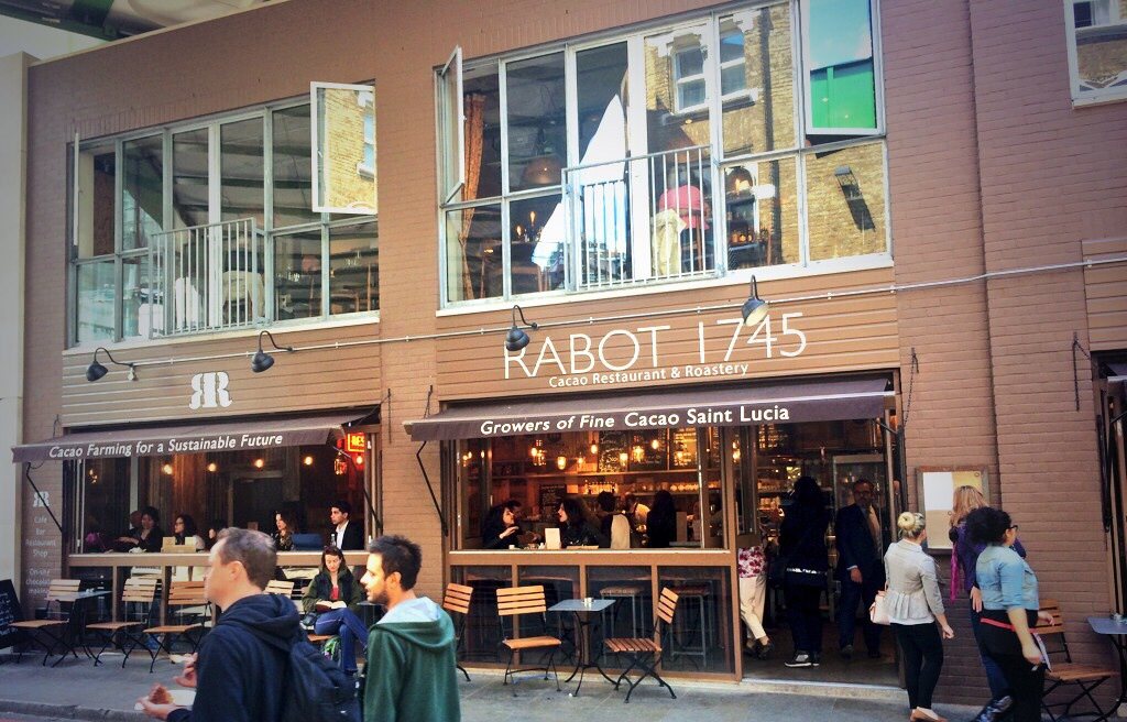 Rabot 1745 in Borough Market