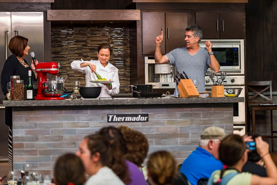 Epcot International Food & Wine Festival: Cooking Demonstration