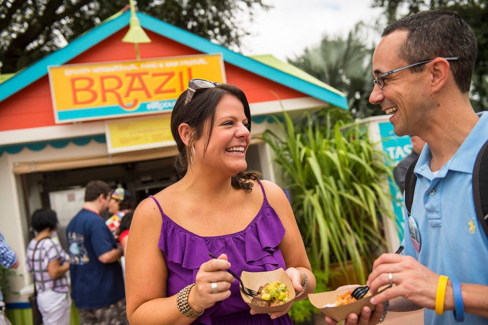 Epcot International Food & Wine Festival: Brazil Marketplace