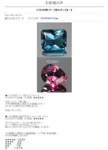 世界の各種宝石をご紹介しております - お客様の声 - Google Chrome 20141008 103352.bmp