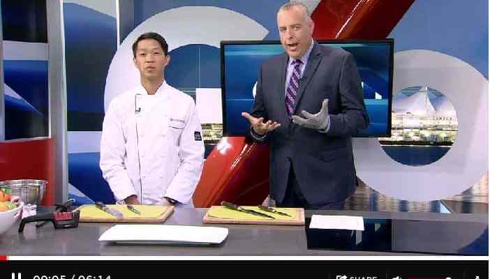 House of Knives Visits Global BC News With Healthy Snack Tips