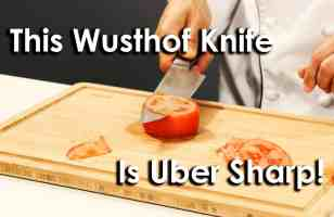 This Wusthof Classic Uber Chef Knife is Uber Sharp!