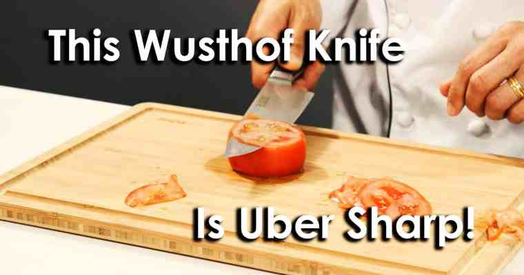 This Wusthof Classic Uber Chef Knife is Uber Sharp!