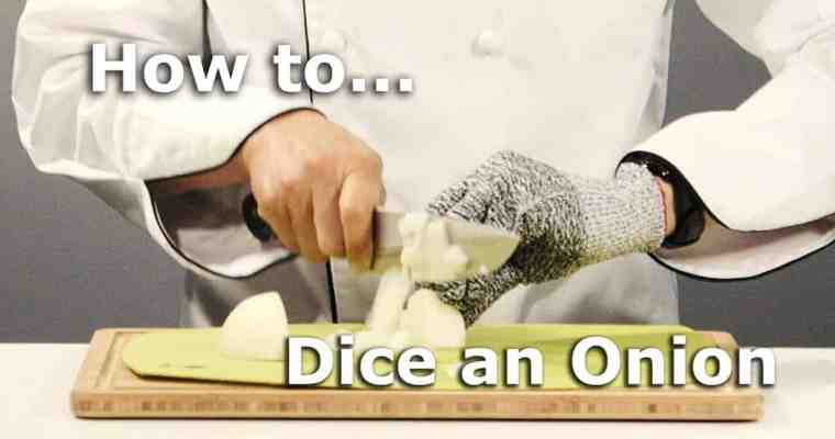 The Easiest Way to Dice an Onion