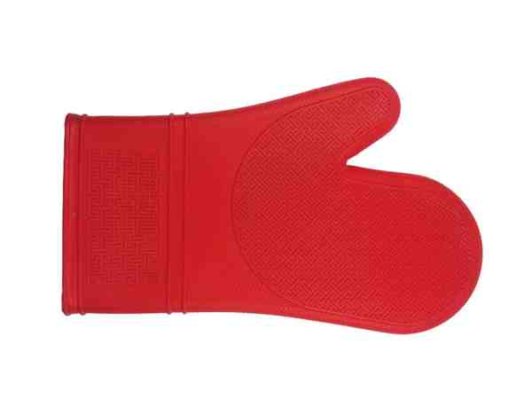 PORT STYLE SILICONE OVEN MITT - RED (PRO2000R)