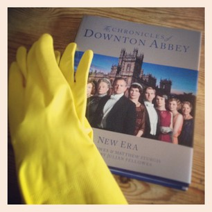 Downton abbey  make peace with housework