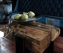 St Kitts dining table detail 4