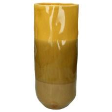 Ochre Stoneware Vase