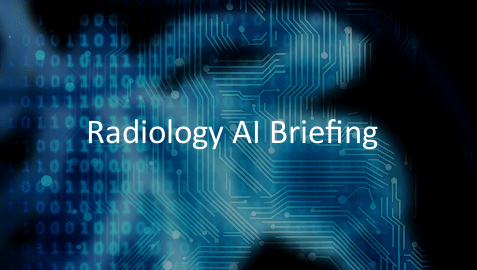 Radiology AI Briefing logo graphic