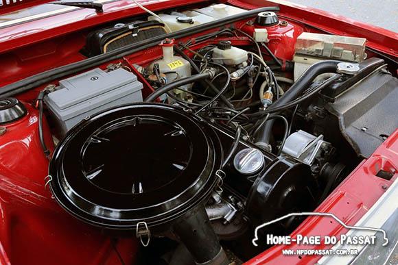 Audi 80 L 1.3 engine