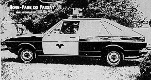 Passat 1975 4 portas - Viatura da Polícia Rodoviária do Paraná