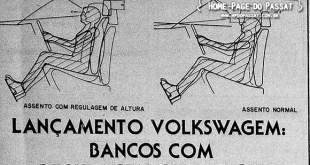 Bancos com regulagem de altura - Linha 1984
