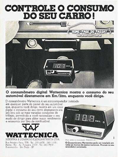 Consumômetro Wattecnica