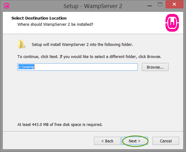 Installing-and-configuring-wamp-server-install-screen-3