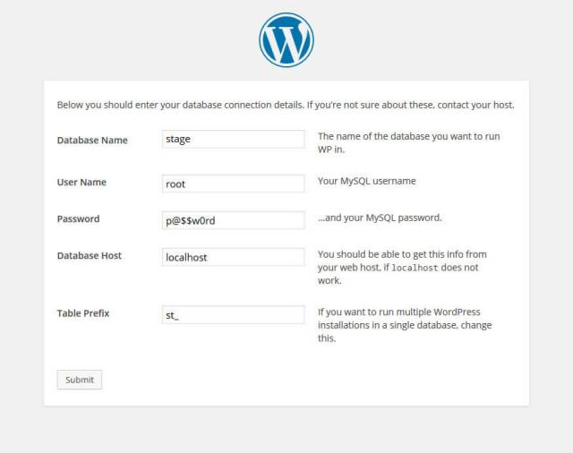 how-to-install-wordpress-locally-on-windows-wp-confiig-step-3