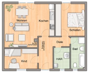 Aktionshaus aspekt 78 hausbau blog mv sicher ein for Einfamilienhaus innenansicht