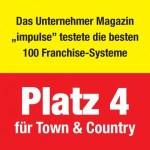 Franchise im Handwerk/Bau: Town & Country Haus erneut bestes System