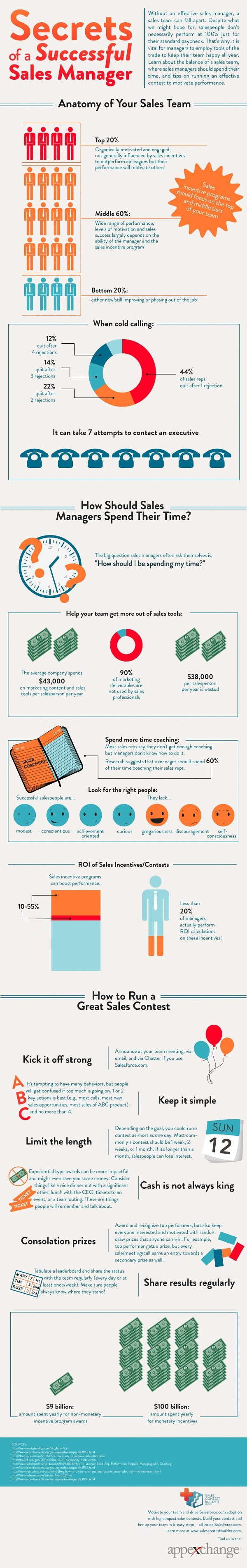 Secrets of Successful Sales Managers [Infographic]