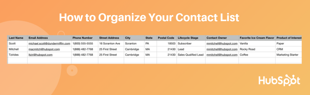 Create a detailed list of vendor contacts that includes product or service descriptions, ratings, contract dates, and room for additional notes. How To Manage Your Contact List In Excel Template